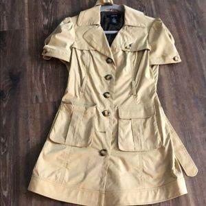 Arden B cream summer coat